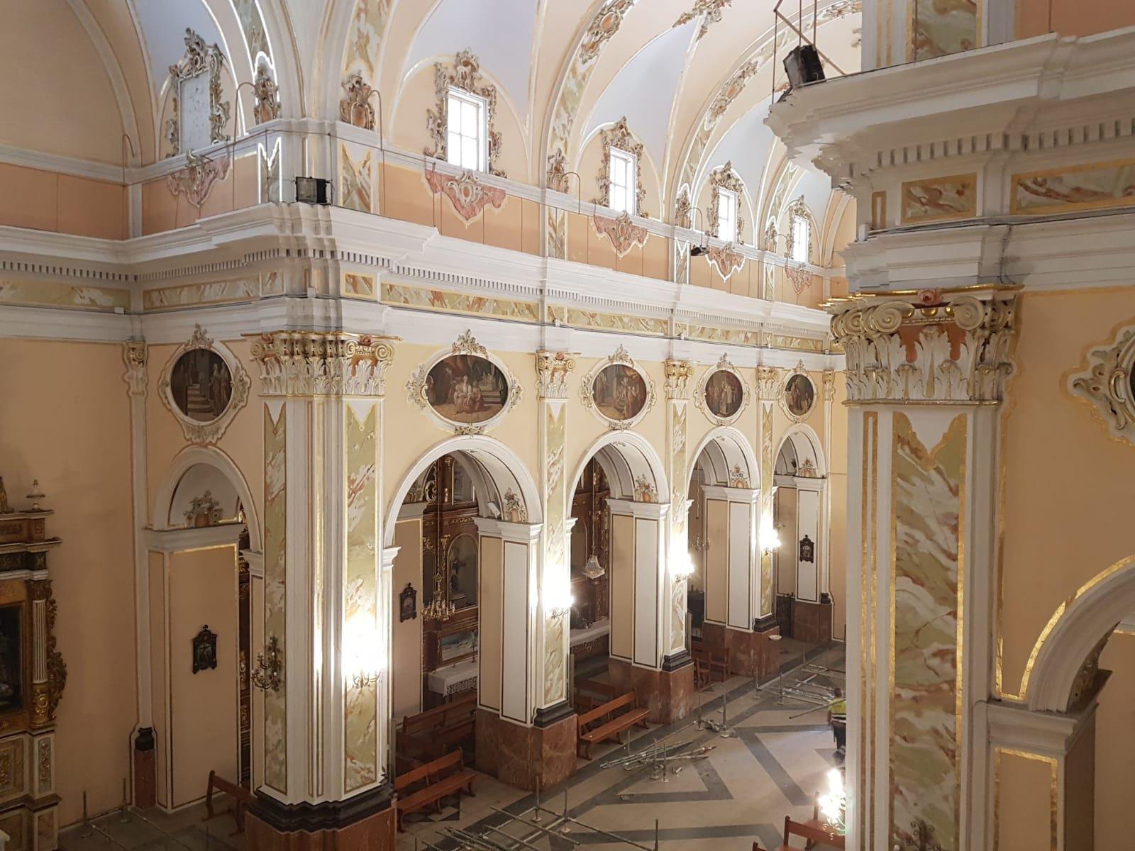 Restauración De Las Pinturas Murales De La Iglesia Parroquial De Pedralba